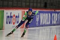 SPEED SKATING: INZELL: 05-12-2015, Max Aicher Arena, ISU World Cup, 5000m Men, Jorrit Bergsma (NED), ©foto Martin de Jong