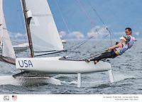 Bora Gulari & Louisa Chafee, Nacra 17, Rio 2016