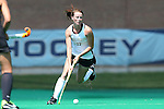 30 August 2014: Wake Forest's Kali Vicars. The Wake Forest University Demon Deacons played the University of Iowa Hawkeyes at Francis E. Henry Stadium in Chapel Hill, North Carolina as part of the ACC/Big 10 Challenge and an 2014 NCAA Division I Field Hockey match. Iowa won the game 4-1.