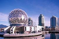 "Vancouver, BC, British Columbia, Canada - Telus World of Science at ""False Creek"""