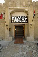 United Arab Emirates, Dubai, Dubai Museum entrance