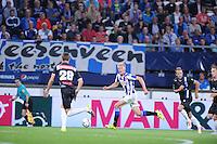 VOETBAL: HEERENVEEN: Abe Lenstra Stadion 29-08-2015, SC Heerenveen - PEC Zwolle, uitslag 1-1, Morten Thorsby (#8), ©foto Martin de Jong