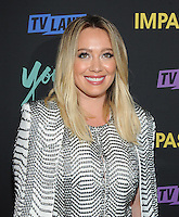 NEW YORK, NY - SEPTEMBER 27:  Hilary Duff from the cast of 'Younger'  attends the 'Younger' Season 3 and 'Impastor' Season 2 New York premiere party at Vandal on September 27, 2016 in New York City.   Photo Credit: John Palmer/MediaPunch