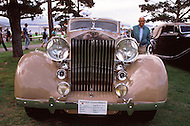 August 26th, 1984. 1938 Rolls-Royce Phantom III Franay Sedanca de Ville.