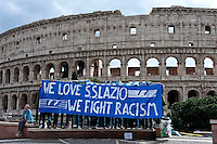 """We Love S.S. Lazio 1900 - We Fight Racism"""