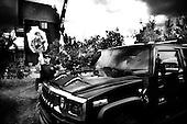 Wlosciejewki 25.07.2009 Poland<br /> Training of the elite security service by European Security Academy ( its founder is living legend Andrzej Bryl ) and Israeli security forces Shin Bet in E.S.A seat in Wlosciejewki ( Poland ). This is the first course for international elite bodyguards, who will protect VIP's and promoters on the FIFA World Cup in RPA 2010 and UEFA European Cup in Poland and Ukraine 2012.<br /> Photo: Adam Lach / Napo Images<br /> <br /> Szkolenie elitarnych sluzb ochroniarzy przez Euopean Security Academy ( jej zalozycielem jest zyjaca legenda dr. Andrzej Bryl ) i izraelskie sluzby bezpieczenstwa Shin Bet. To pierwsze szkolenia dla miedzynarodowych elitarnych ochroniarz, ktorzy beda zabezpieczac VIP'ow i organizatorow podczas Mistrzostw Swiata w pilce noznej RPA 2010 i w trakcie Mistrzostw Europy w Polsce i na Ukrainie w 2012.<br /> Fot: Adam Lach / Napo Images