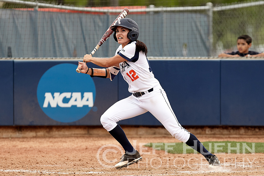 SAN ANTONIO, TX - APRIL 8, 2017: The University of Texas at San Antonio Roadrunners sweep a double header 5-4 and 1-0 from the Florida International University Panthers at Roadrunner Field. (Photo by Jeff Huehn)