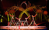 Amaluna from Cirque du Soleil at The Royal Albert Hall, London, <br /> Great Britain <br /> performance <br /> 15th January 2016 <br /> <br /> <br /> Uneven Bars<br /> <br /> <br /> <br /> Photograph by Elliott Franks <br /> Image licensed to Elliott Franks Photography Services