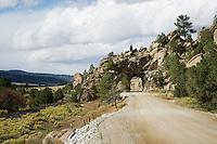 Old train tunnel near Buena Vista, Colorado