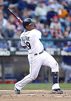 04 October 2009: Seattle Mariners third baseman #29 Adrian Beltre grounds out to against the Texas Rangers. Seattle won 4-3 over the Texas Rangers at Safeco Field in Seattle, Washington.