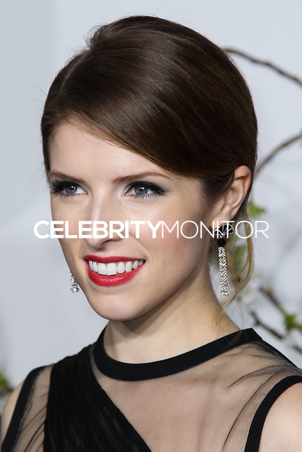 HOLLYWOOD, LOS ANGELES, CA, USA - MARCH 02: Anna Kendrick at the 86th Annual Academy Awards - Press Room held at Dolby Theatre on March 2, 2014 in Hollywood, Los Angeles, California, United States. (Photo by Xavier Collin/Celebrity Monitor)