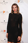 Model, Founder of @Alinas_Flowers and Ambassador of The Heart Fund Charity Alina Baikova attends the  2015 ASPCA Young Friends Benefit