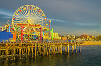 Santa Monica Pier, November 18, 2014.