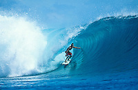 Conan Hayes (HAW) Surfing at G-Land Indonesia on the East Coast of Java, Indonesia.photo:  joliphotos.com