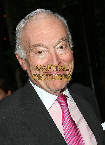 LEONARD LAUDER.At Estee Lauder's 'Give Breast Cancer the Pink Slip' Cocktail Party,.New York, 14th September 2005.portrait headshot pink tie.www.capitalpictures.com.sales@capitalpictures.com.© Capital Pictures.