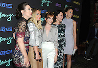 NEW YORK, NY - SEPTEMBER 27:  Miriam Shor, Hilary Duff, Molly Bernard, Debi Maza, Sutton Foster from the cast of 'Younger'  attends the 'Younger' Season 3 and 'Impastor' Season 2 New York premiere party at Vandal on September 27, 2016 in New York City.   Photo Credit: John Palmer/MediaPunch