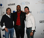 Hank Freid, Erik LaRay Harvey and Brandon Freid Attend Seth Meyers at Gotham magazine's 'The Men's Issue' release party at The Sanctuary Hotel powered by CÎROC Vodka, NY