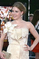 "Amy Adams   arriving at .""Tropic Thumder"" Premiere at the Mann's Village Theater in Westwood, CA.August 11, 2008.©2008 Kathy Hutchins / Hutchins Photo...."