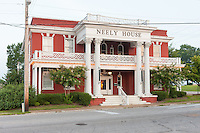 The historic Neely House, a former railroad hotel, in Jackson, Tennessee.