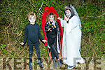 At the KNOCKNAGOSHEL Halloween festival on Sunday were Luke Darcy, Michelle Darcy and Deirdre Bell