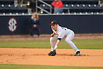 Ole Miss third baseman Mike Snyder vs. Arkansas State at Oxford-University Stadium in Oxford, Miss. on Tuesday, February 23, 2010. Ole Miss won 3-2.