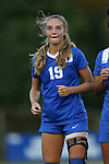 09 September 2016: Duke's Schuyler DeBree. The Duke University Blue Devils hosted the West Virginia University Mountaineers at Koskinen Stadium in Durham, North Carolina in a 2016 NCAA Division I Women's Soccer match. West Virginia won the match 3-1.