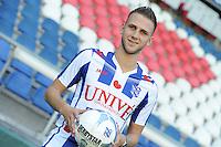 VOETBAL: HEERENVEEN: Abe Lenstra Stadion 30-06-2015, SC Heerenveen, nieuwe speler Branco van den Boomen, ©foto Martin de Jong