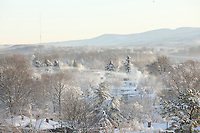 Winter view in Charlottesville, VA. Photo/Andrew Shurtleff