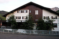 Liechtenstein  Malbun  June 2008.Small town high in the Alpine (southeastern)..Galina Hotel..