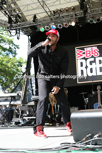 Lyfe Jennings Performs at WBLS 5th Annual R&B Fest at Central Park SummerStage, NY