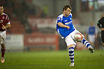 Aberdeen v St Johnstone..22.12.12      SPL.Liam Craig blasts a shot over the bar.Picture by Graeme Hart..Copyright Perthshire Picture Agency.Tel: 01738 623350  Mobile: 07990 594431