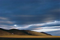 The sky over the Badlands of South Dakota.
