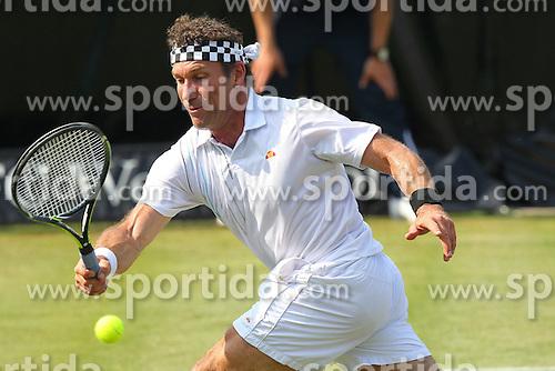 07.06.2015, Tennis Club Weissenhof, Stuttgart, GER, ATP Tour, Mercedes Cup Stuttgart, im Bild Pat Cash bei der Eroeffnung des Centre Court // during the Mercedes Cup of ATP world Tour at the Tennis Club Weissenhof in Stuttgart, Germany on 2015/06/07. EXPA Pictures &copy; 2015, PhotoCredit: EXPA/ Eibner-Pressefoto/ Langer<br /> <br /> *****ATTENTION - OUT of GER*****