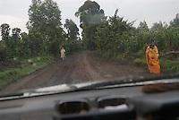 The drive to Mgahinga