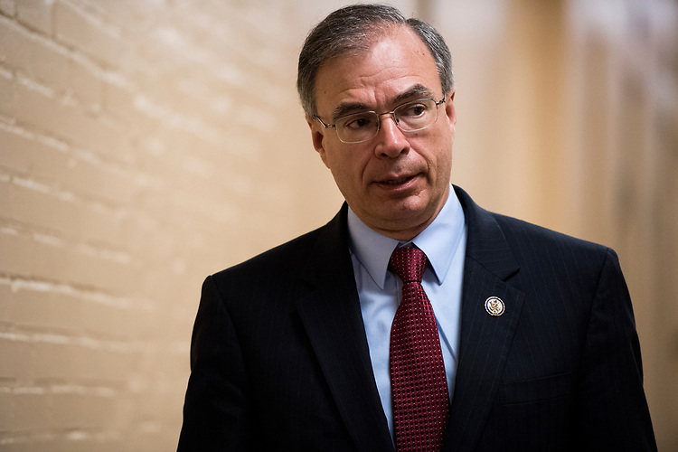 UNITED STATES - APRIL 26: Rep. Andy Harris, R-Md., arrives for the House Republican Conference meeting in the Capitol on Wednesday, April 26, 2017. (Photo By Bill Clark/CQ Roll Call)