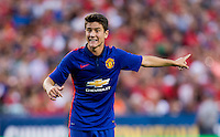 Washington, DC - July 29, 2014: Manchester United defeated Inter Milan 5-3 on penalty kicks during the Guinness International Champions Cup at FedEx Field.