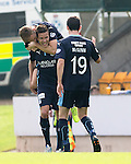 St Johnstone v Dundee...13.09.14  SPFL<br /> Thomas Konrad celebrates his goal<br /> Picture by Graeme Hart.<br /> Copyright Perthshire Picture Agency<br /> Tel: 01738 623350  Mobile: 07990 594431