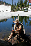 Paolo (Paul) Diego Salcido hiker/Lake Tahoe/man/mountains/trees/snow/sport/trails/Paolo Diego Salcido