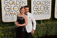 Amy Adams &amp; Jeremy Renner at the 74th Golden Globe Awards  at The Beverly Hilton Hotel, Los Angeles USA 8th January  2017<br /> Picture: Paul Smith/Featureflash/SilverHub 0208 004 5359 sales@silverhubmedia.com