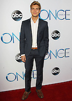 HOLLYWOOD, LOS ANGELES, CA, USA - SEPTEMBER 21: Scott Michael Foster arrives at the Los Angeles Screening Of ABC's 'Once Upon A Time' Season 4 held at the El Capitan Theatre on September 21, 2014 in Hollywood, Los Angeles, California, United States. (Photo by Celebrity Monitor)