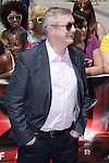 X-Factor judge, Louis Walsh, filling in for Simon Cowell, arrived and greeted fans Friday at the X-Factor auditions in Kansas City, Missouri. June 8, 2012. Credit: MediaPunch Inc. ***NO GERMANY***NO AUSTRIA***kcpf2012. MPIKC / Mediapunchinc