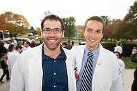 William Manning, right. Class of 2017 White Coat Ceremony.