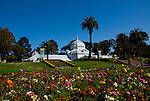 California: San Francisco. Conservatory of Flowers in Golden Gate Park.  Photo copyright Lee Foster. Photo #: 23-casanf78885