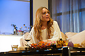 """London, UK. 30.09.2014. """"Speed-the-Plow"""", by David Mamet, directed by Lindsay Posner, starring Lindsay Lohan, opens at the Playhouse Theatre. Picture shows: Lindsay Lohan (Karen). Photograph © Jane Hobson."""