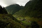 A mountain village near the legendary Lugu Hu Lake in Yunnan Province, southwestern China.