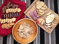 Snack Time, SV Maple Leaf, Gulf Islands, British Columbia, Canada