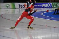 SCHAATSEN: BERLIJN: Sportforum, 08-12-2013, Essent ISU World Cup, 500m Men Division B, Zhongsheng Mu (CHN), ©foto Martin de Jong