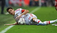 FUSSBALL CHAMPIONS LEAGUE  SAISON 2015/2016 VIERTELFINALE HINSPIEL FC Bayern Muenchen - Benfica Lissabon         05.04.2016 Nicolas Gaitan (Benfica Lissabon)