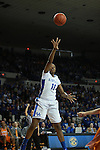 UK guard A'dia Mathies attempts to shoot a basket during the first half of the UK vs. Tennessee at Memorial Coliseum in Lexington, Ky., on Sunday, March 3, 2013. Photo by Emily Wuetcher | Staff....