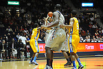 "Ole Miss' Marshall Henderson (22) makes a three-pointer  vs. McNeese State at the C.M. ""Tad"" Smith Coliseum in Oxford, Miss. on Tuesday, November 20, 2012. .."